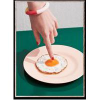 Fried Egg Poster 50x70 cm
