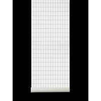 Grid Tapet Black/White