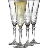 Lyngby Glas Champagne Melodia 16 cl 4 st